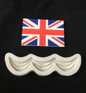 Silicone Swag Mould For Cake Decorating