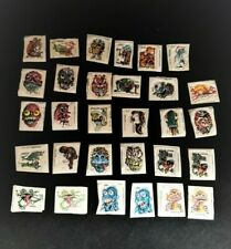 Vintage 1979 Topps Monstickers 30 Puffy Monster Stickers Loose In Bag