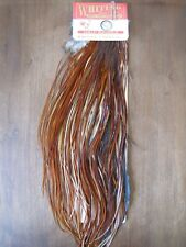 Fly Tying Whiting Silver Rooster Half Midge Saddle Brown #A