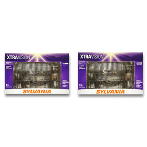 Sylvania XtraVision Low Beam Headlight Bulb for GMC R1500 K1500 R2500 jv
