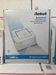 iRobot Braava Jet 240 Mop Mopping Robot w/ Pads