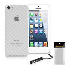 Fundas y carcasas Para iPhone 5c color principal transparente de piel para teléfonos móviles y PDAs