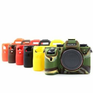 For SONY A72/A7M2/A7S2/A7R2 Camera Silicone Soft Skin Protective Cover