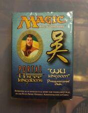 MTG Portal 3 Kingdoms Wu Kingdom theme deck sealed new
