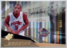 2004-05 Upper Deck SPx Spectrum HORACE JENKINS RC Detroit Pistons Rare SP #/25