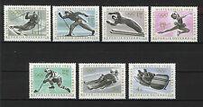 AUSTRIA 1963  MNH  SC.711/717 Olympic Games Insbruck