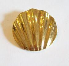 Vintage Crown Trifari Shell Like Pin