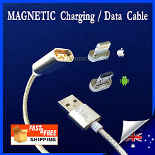 Magnetic lightning/Micro-USB iPhone Samsung Android Charger Sync Cable Car