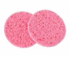 2pcs Natural wood fiber Facial Cleansing Sponges Face Mask Removal Sponge