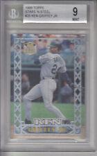 1999 Topps Stars 'N Steel Card #26 Ken Griffey, Jr.  Z17804 - BVG Mint 9