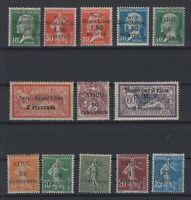 G139010/ FRENCH SYRIA – YEARS 1922 - 1924 MINT MH SEMI MODERN LOT – CV 110 $