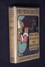 Mr. Munchausen, by John Kendrick Bangs, 1901 1st edition, illustrated
