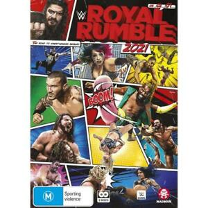 WWE : Royal Rumble 2021 (Dvd,Region 4)