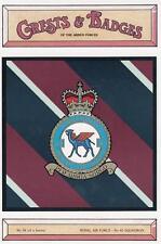 ROYAL AIR FORCE ( RAF ) 45 SQUADRON POSTCARD ( CRESTS & BADGES SERIES )