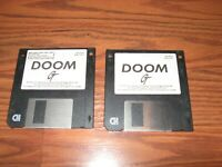 "Doom by GT Interactive Software Shareware Version on 3.5"" disks"