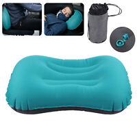 For Hiking Camping Travel Sleeping Bag Ultralight Portable Air Inflatable Pillow