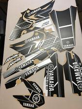 Yamaha UFO Restyle Retro Graphics Kit Black/Gray/White Premium MATTE finish
