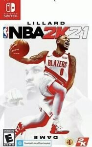 NBA 2k21 Nintendo Switch Brand New Sealed