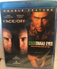 Snake Eyes / Face Off (Blu-ray, 2-Disc Double Feature) Nicolas Cage Travolta .