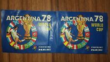 Panini World Cup 1978 * World Cup 78 Argentina * 2 X BAG * Pack * Pochette Busti...