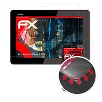 3x Anti-Shock Pellicola protettiva per Asus PadFone 2 A68 opaco&flessibile
