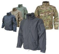Zip Hip Length Polycotton Military Coats & Jackets for Men