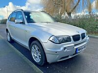 2004 (54) BMW X3 2.5i SE PETROL E83 AUTO HPI CLEAR 5DR SMOOTH DRIVE AWSOME DEAL