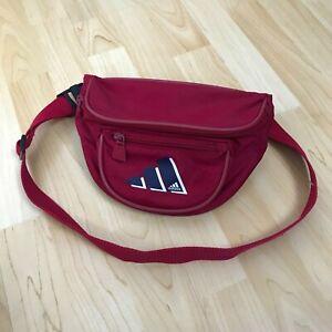 Vintage Adidas Mens Crossbody Bumbag Moon Bag Sling Bag Satchel One Size