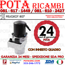 POMPA ELETTROIDRAULICA - SERVOSTERZO PEUGEOT 807