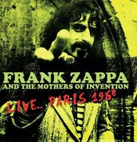 FRANK AND THE MOTHERS OF INVENTION ZAPPA - LIVE...PARIS (BLACK VINYL LP NEU!
