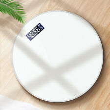 180KG Digital Electronic Weighing Body Weight Round Fitness Glass Scale