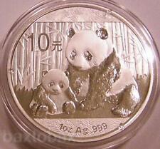 2012 CHINESE PANDA MOTHER & CUB 1 oz. SILVER COIN *BU*