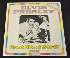SEALED READER'S Digest LP Elvis Presley RCA 072 Great Hits Of 1956-57