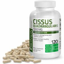 Cissus Quadrangularis 1000MG Non-GMO, Gluten Free, Soy Free, 120 Veg Capsules