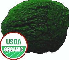 Organic Chlorella Spirulina Wheatgrass Barley Grass Green Powder 1 LB