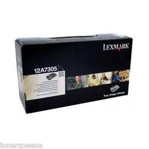 New ! GENUINE Lexmark E321 / E323 High Capacity Black Toner Cartridge 12A7305