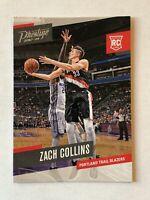 Zach Collins rookie card 2017-18 Panini Prestige #160 Portland Trail Blazers