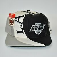 Los Angeles Kings NHL Vintage 90's Twins Enterprise Men's Snapback Cap Hat - NWT