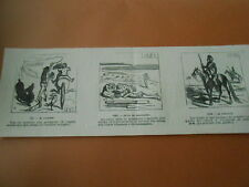 Caricature 1869 - Gustave Courbet chargé de l'équilibre Européen