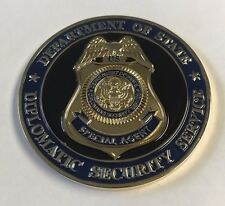 "DOS DSS Diplomatic Security US Special Enovy AMBO Kris Stevens KIA 2"" Coin"