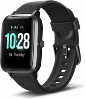 Anbes Activity and Sleeping Activity Smart watch Heart Rate Monitor For Him.
