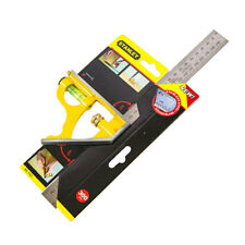 Stanley 46-143 300mm Measuring Combination Square Angle Ruler