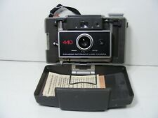Vintage Polaroid 440 Automatic Land Camera w/ Timer, Very good condition
