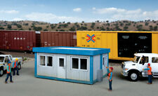 Walthers Cornerstone HO Scale Building/Structure Kit Modern Railroad Yard Office