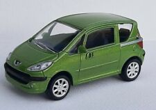 Norev 3 inches 1/60. Peugeot 1007 vert  Neuf en boite