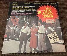 "The Sun Also Rises - East - Hugo Friedhofer - Lionel Newman - LP 12 "" AEI 3109"