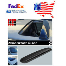 1pcs Dark Smoke Sunroof/ Moon roof visor Wind Rain Guard Cover (US Stock)