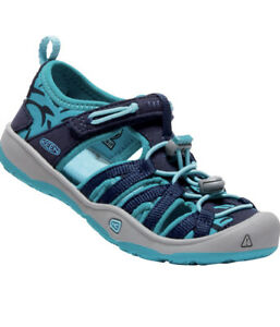 Keen Kid's Moxie Sandals in Teal Toddler Size 8