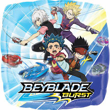 "Beyblade 17"" Foil Balloons Boys Birthday Party Decoration Supply ~ 2ct Bey Blade"