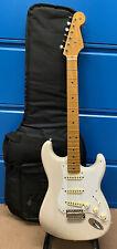 *VGC* Fender Stratocaster 50s Vintera White Blonde Electric Guitar Mexico + Bag